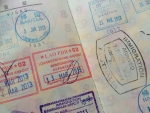 パスポート(出入国スタンプ)