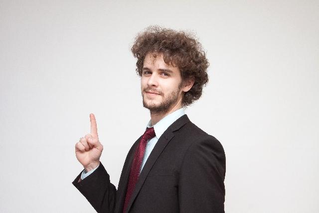 ハンサムな外国人ビジネスマン